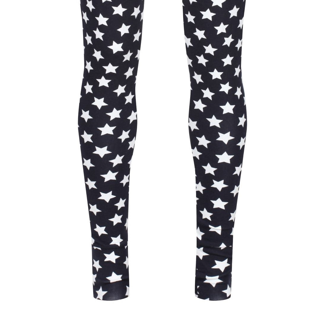 LEGGINGS - Navy Stars