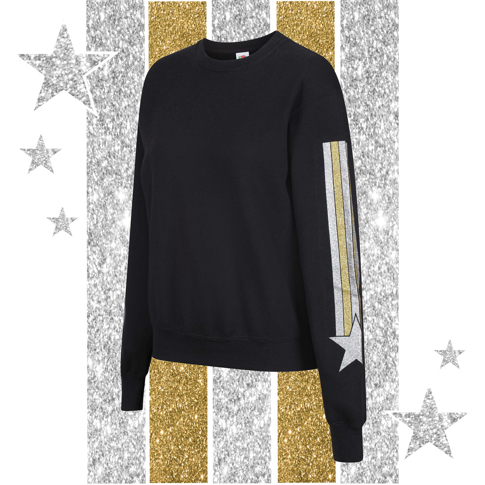 The GLITTER SLEEVES Sweat
