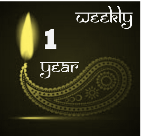 Weekly Archana for One Year