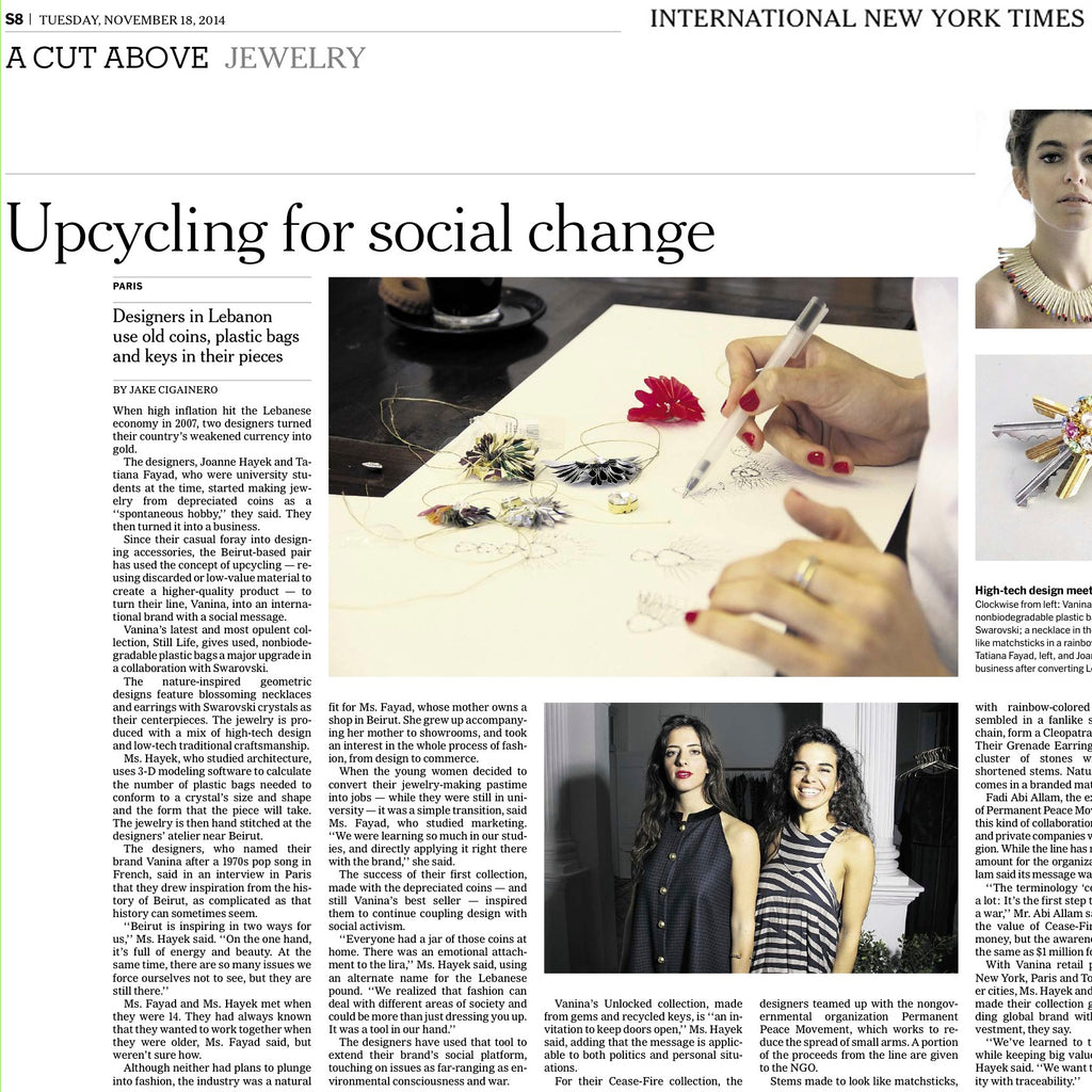 VANINA IN THE NEW YORK TIMES !