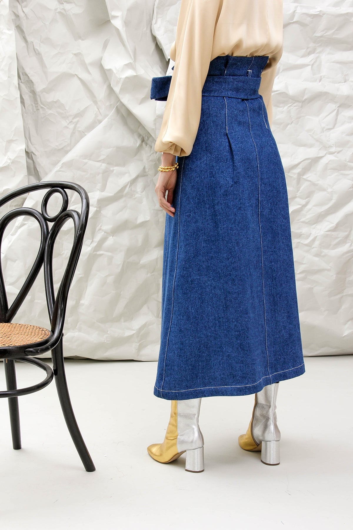 THE ANDREA DENIM SKIRT