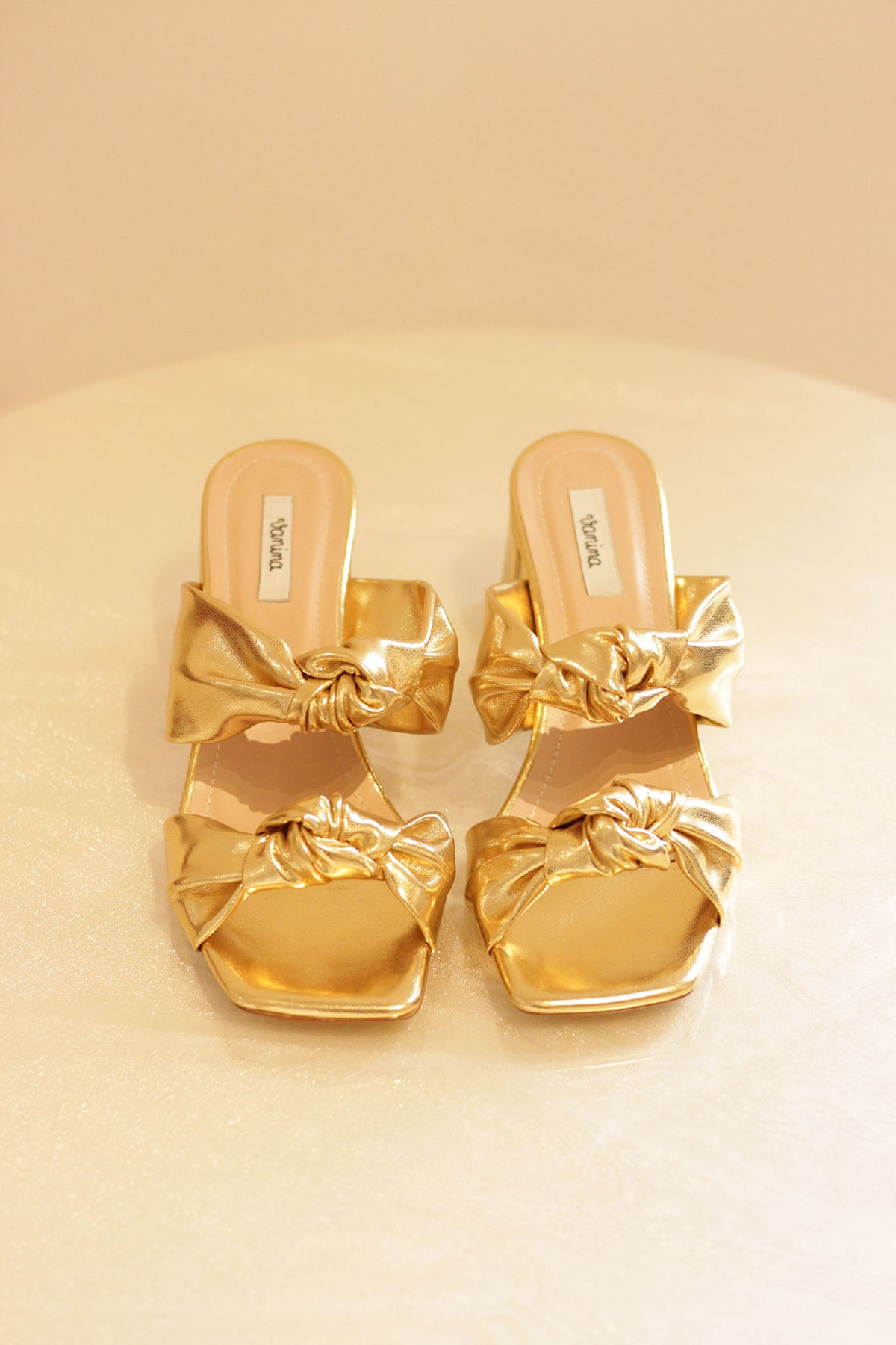 THE GOLD SUNSET SANDALS