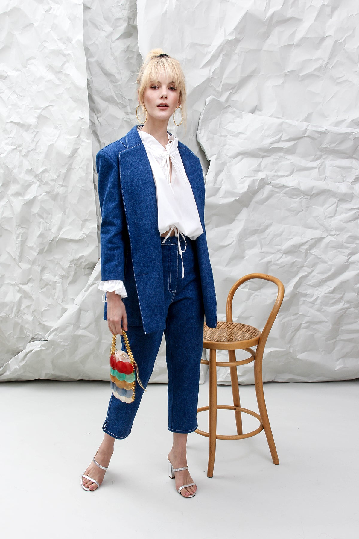THE ELISA DENIM SUIT
