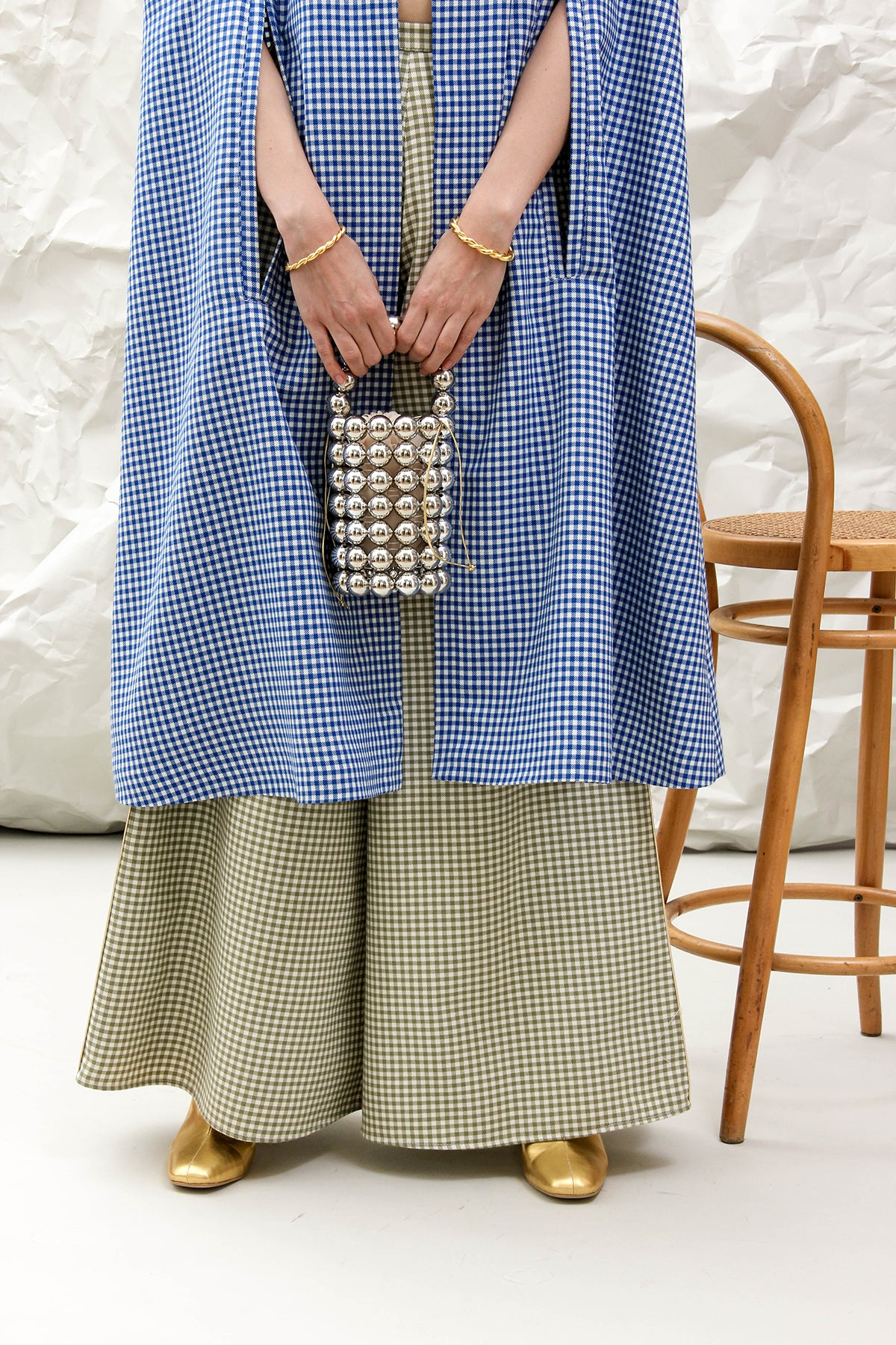 THE MARY GINGHAM PANT