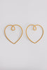 THE HEART OF GOLD EARRINGS