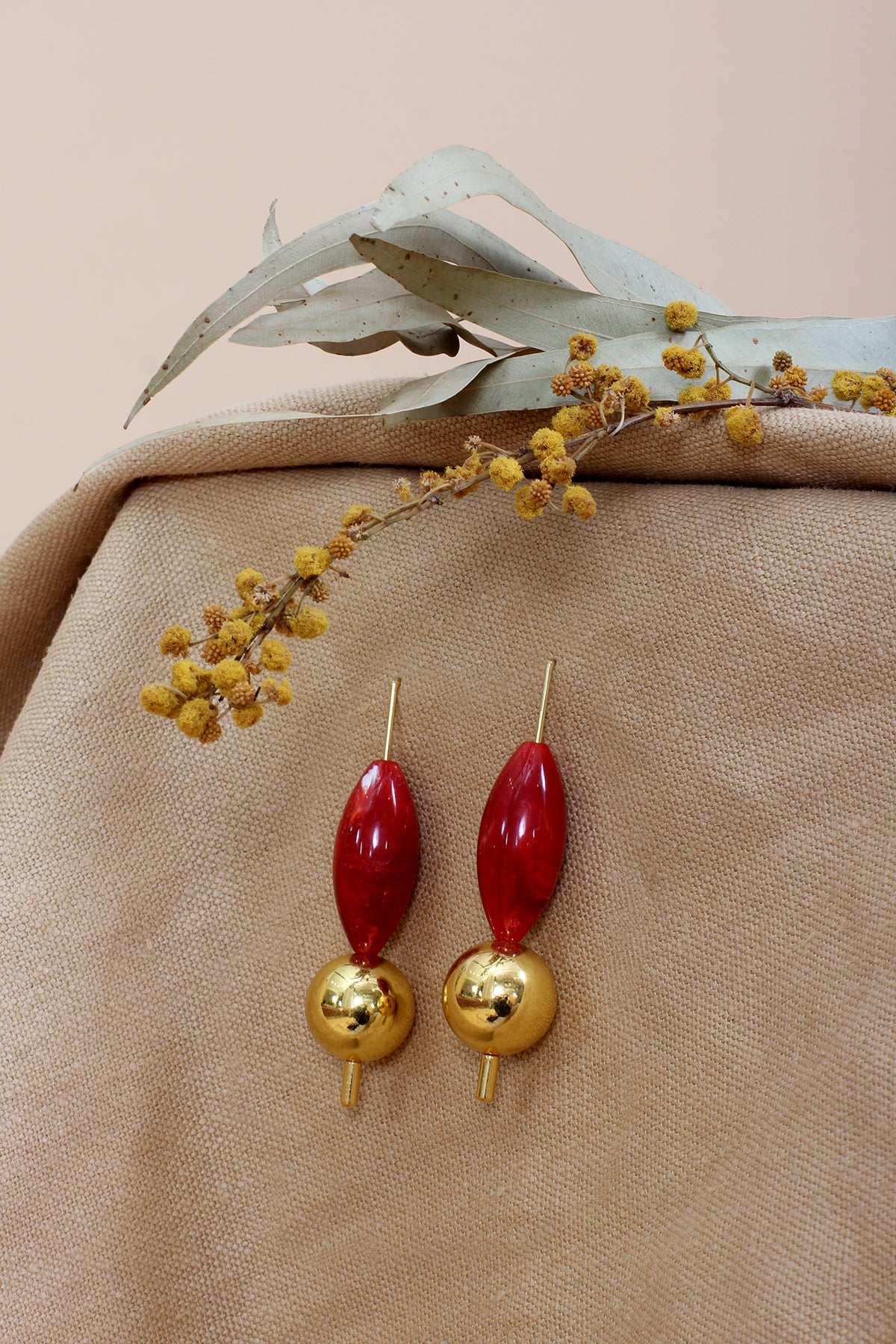 THE RED MISCELLANEA EARRINGS