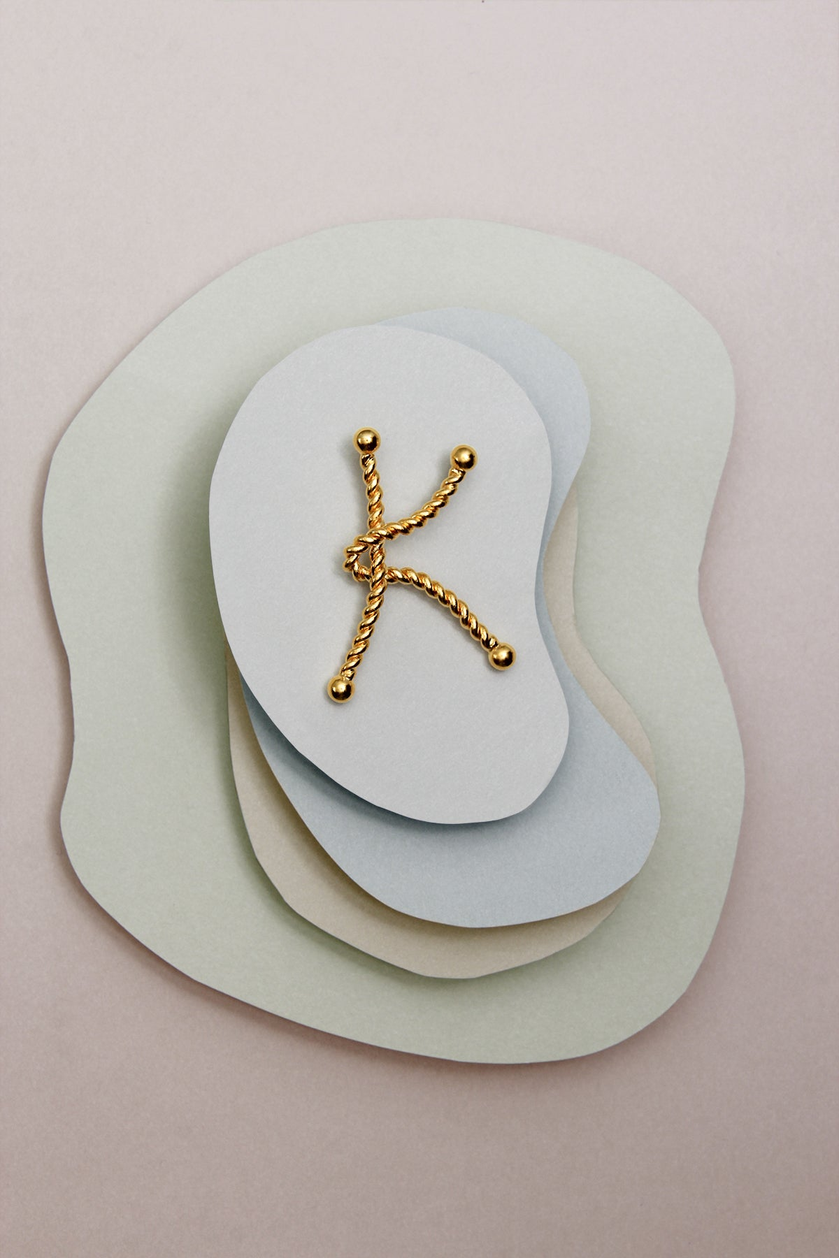 THE INITIAL K NECKLACE