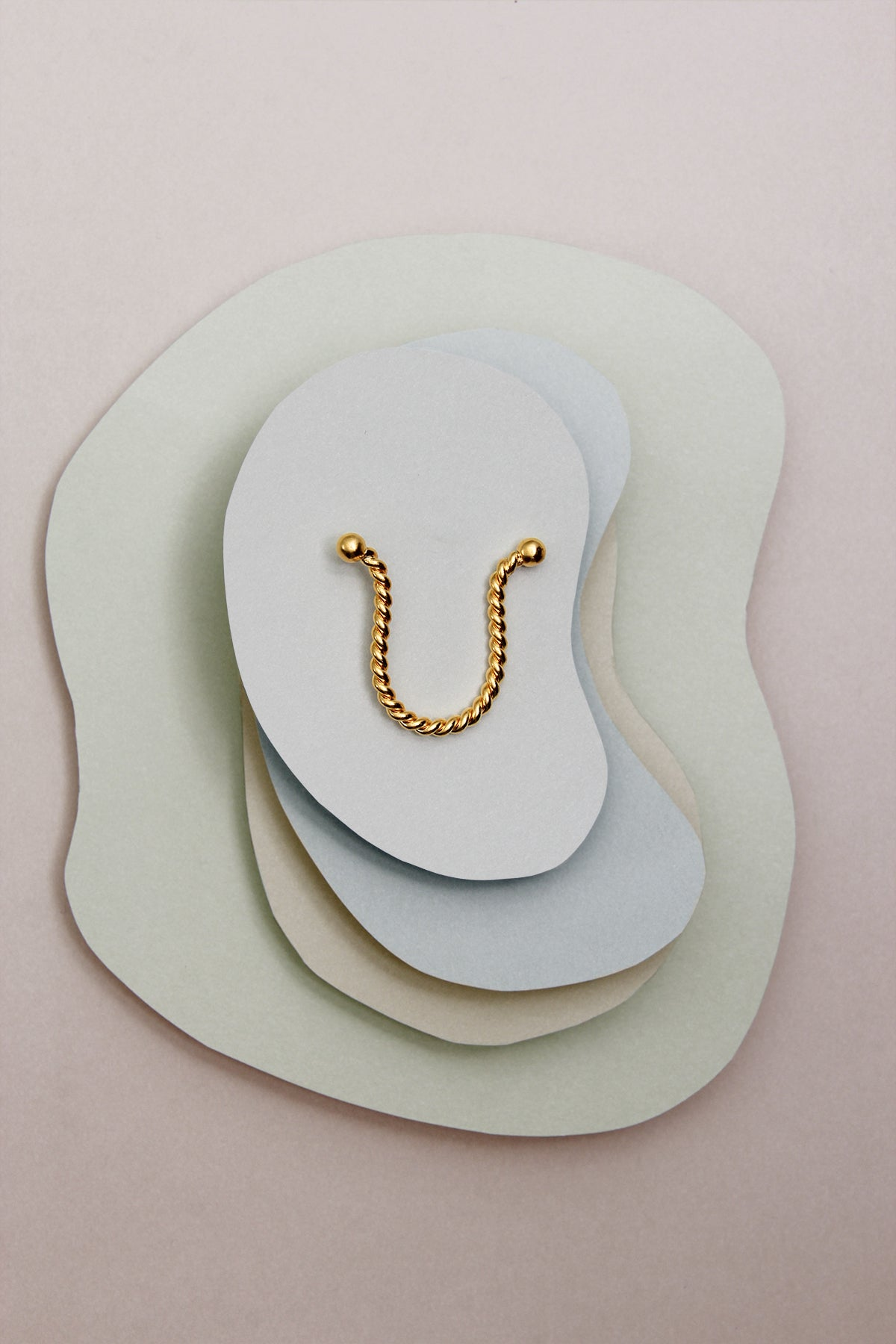 THE INITIAL U NECKLACE