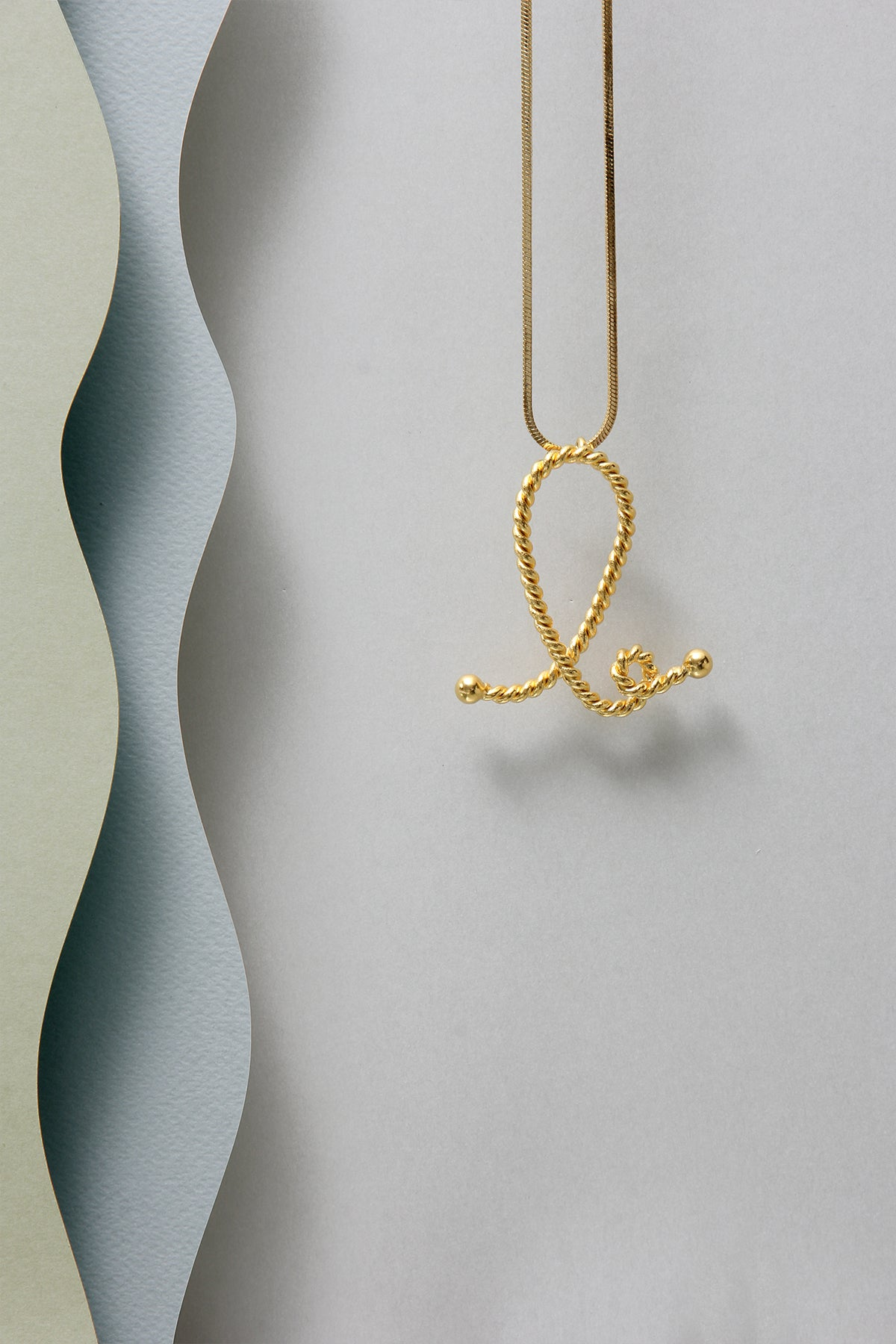 THE INITIAL B NECKLACE