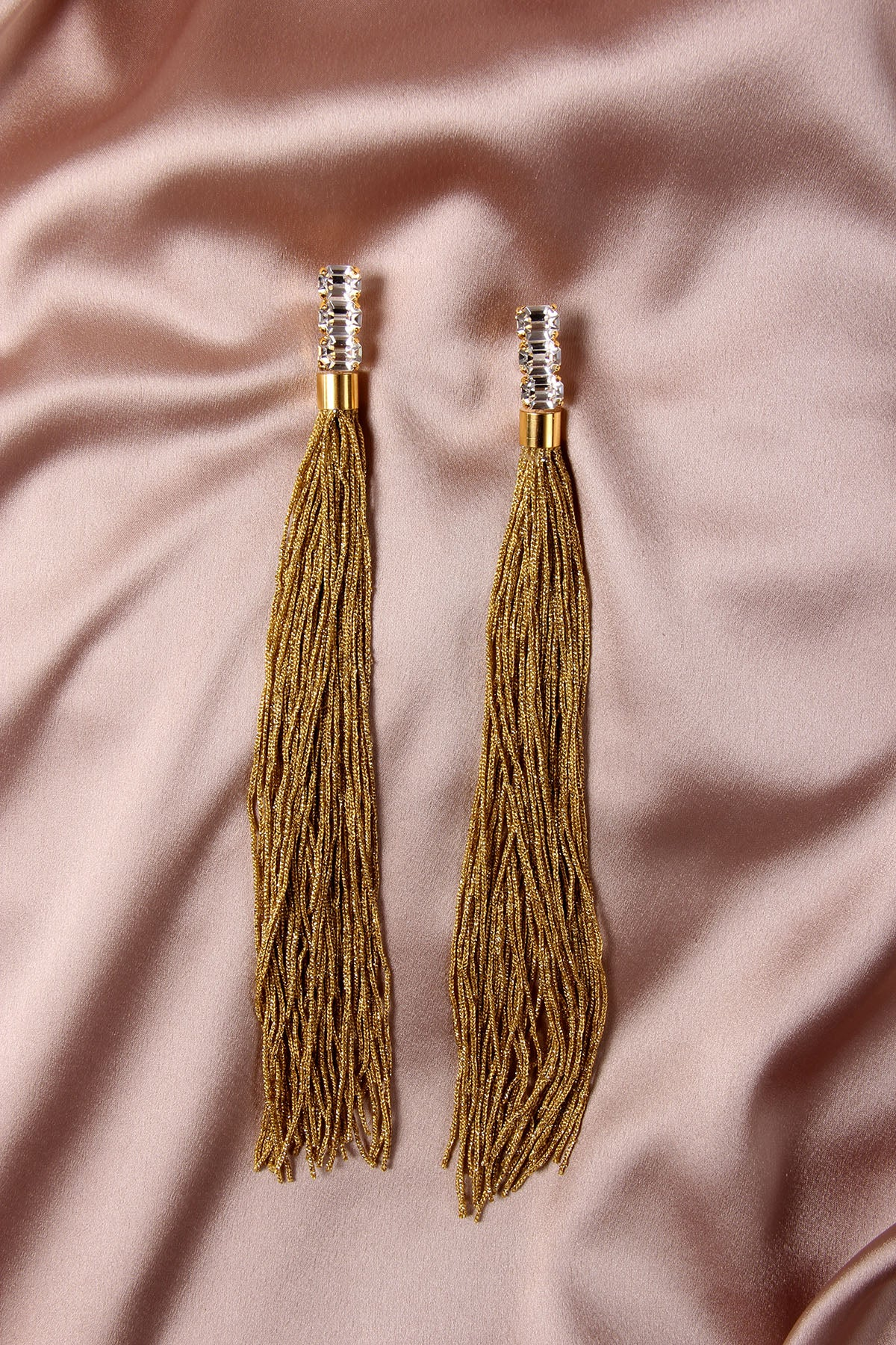 THE WEEPING SOIL GOLD EARRINGS