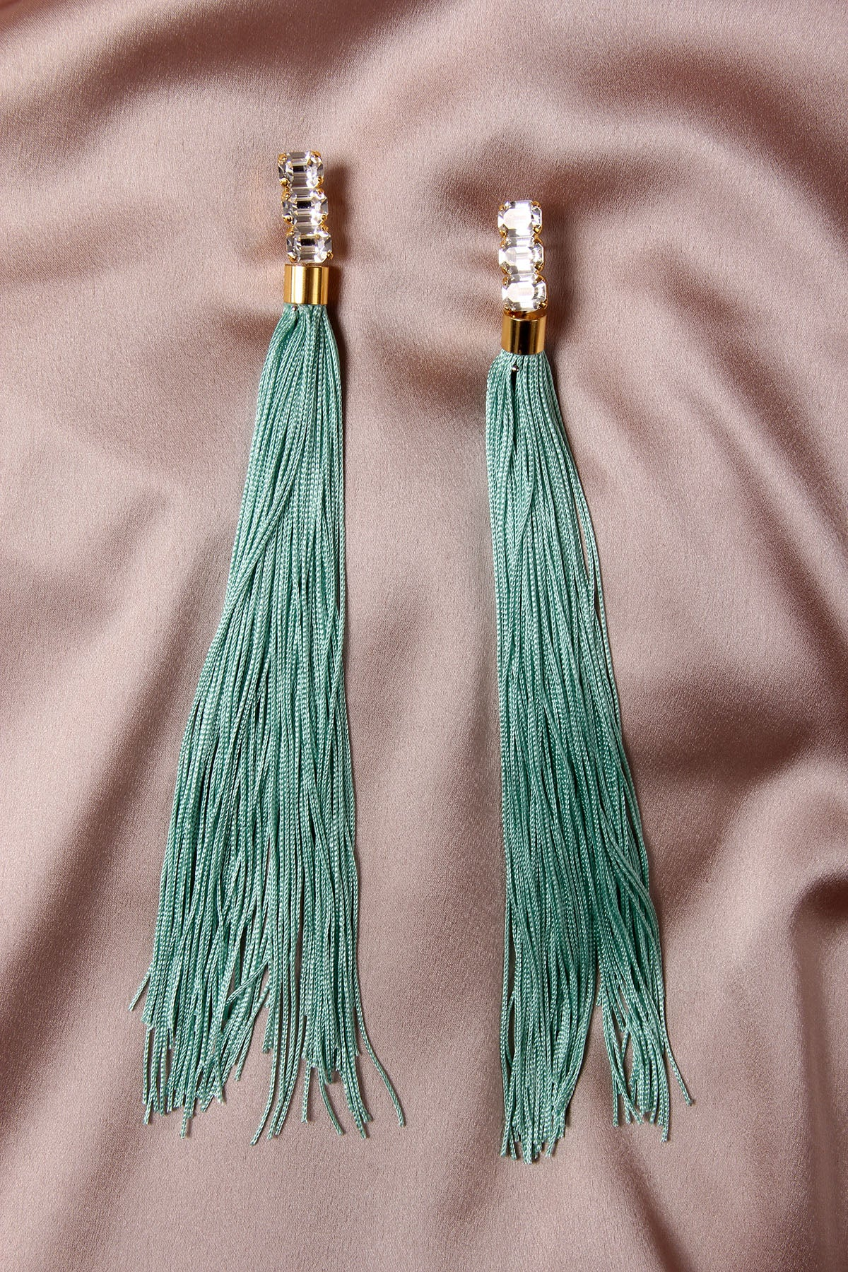 THE WEEPING SOIL TURQUOISE EARRINGS