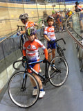 What age can Kids get on a Velodrome Track?