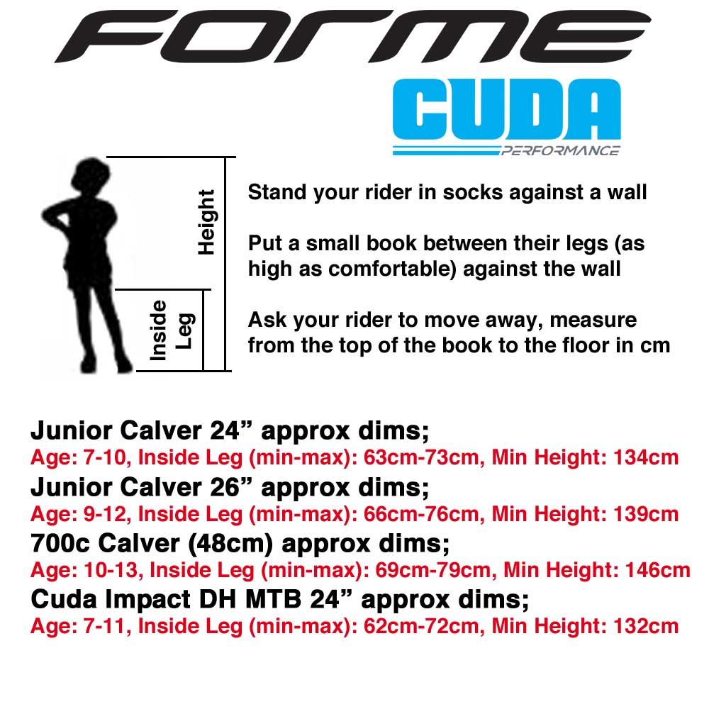 Sizing Guides Kids Bikes Cycling Clothes And Triathlon Wetsuits
