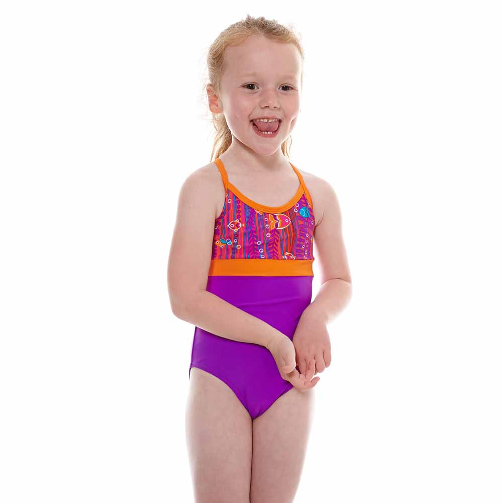 Zoggs Sea Garden Springbuck Swimsuit
