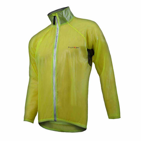 Funkier Kids Storm Stowaway Cape/Jacket (yellow)