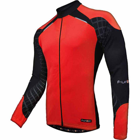 Funkier Kids Long Sleeved Cycling Jersey