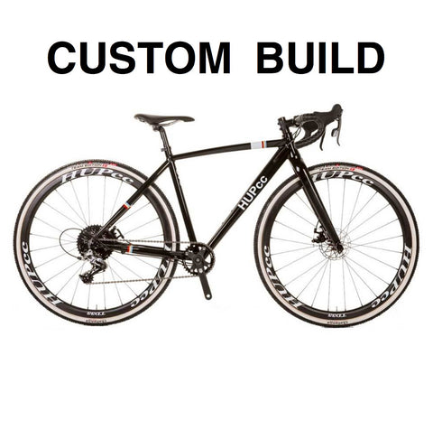 CUSTOM BUILD HUP EVO disc youth cyclocross bike drop bar