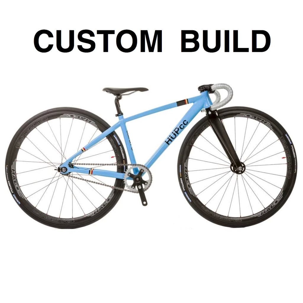 CUSTOM BUILD HUP azure 700c Youth Track Race Bike