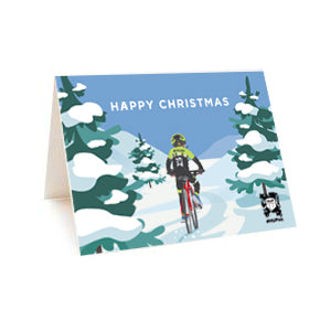 HUP Cyclocross Christmas Greetings Card (pack of 5)