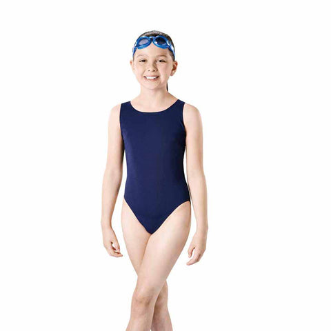 Maru Solid Pacer Open Back Junior (navy)