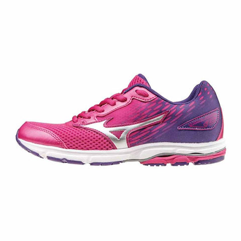 Mizuno Wave Rider 19 Junior (Pink/Purple)
