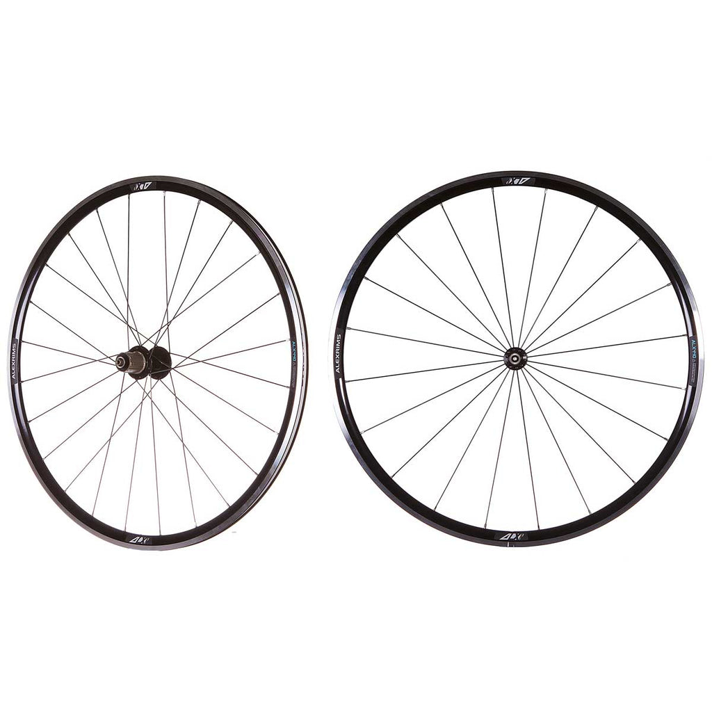 Alex ALX440 - 700C Q/R Road Wheels (TL-Ready) in Black