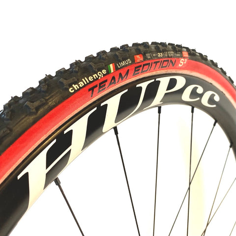 Challenge Baby Limus TE Tubular Cyclocross Tyre 700c x 33c (Red Wall Ltd Edition)