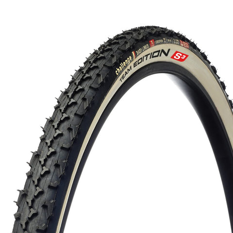 Challenge Baby Limus TE (Team Edition) Soft Tubular Cyclocross Tyre 700c x 33c (White)