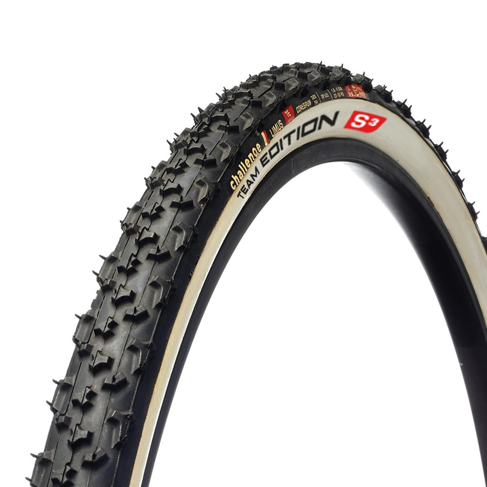 Challenge Limus TE (Team Edition) Soft Tubular Cyclocross Tyre 700c x 33c (White)