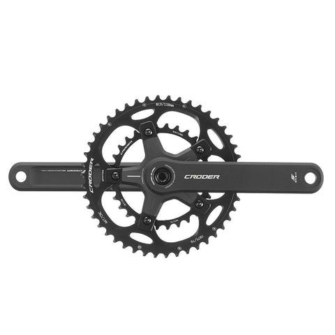 Croder Spirit Crankset - Double Chainrings