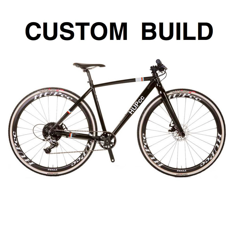 CUSTOM BUILD HUP EVO disc youth cyclocross bike flat bar