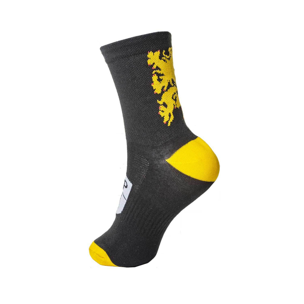 HUP Belgian Flanders Lion Kids Cycling Socks