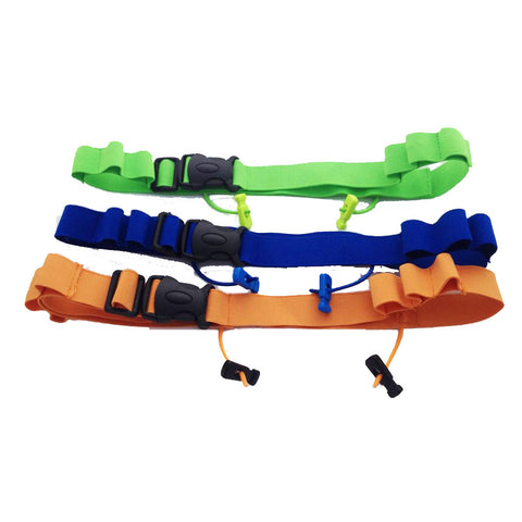 Teen/Adult Triathlon Race Number Belt For Gels