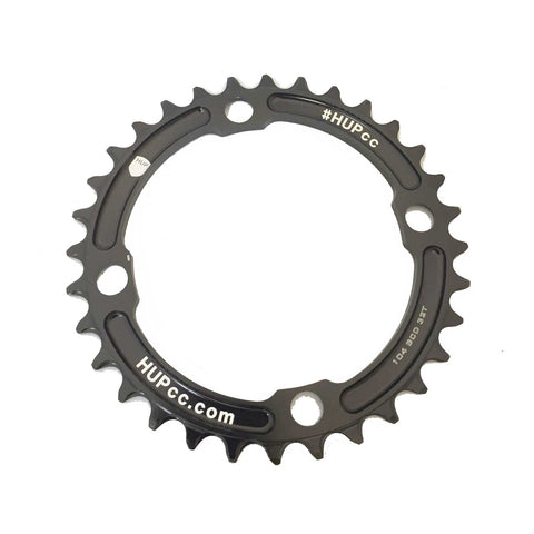 HUP 30T/32T/34T/36T/38T/42T 104bcd Narrow-Wide Chainrings: Kids Road Race/Cyclocross/MTB Race Bikes