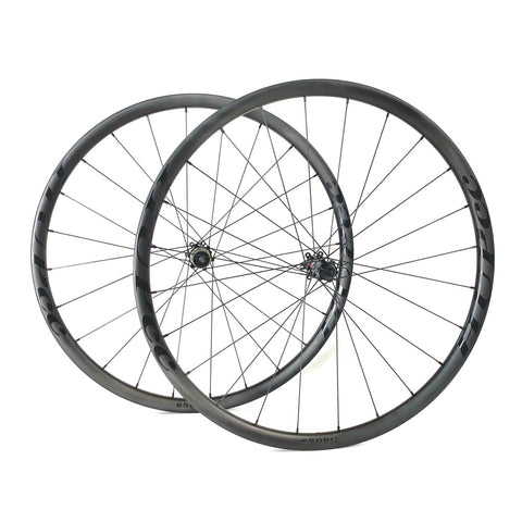 HUP 650BG 'Black Label' 650b Disc Gravel Adventure Wheelset
