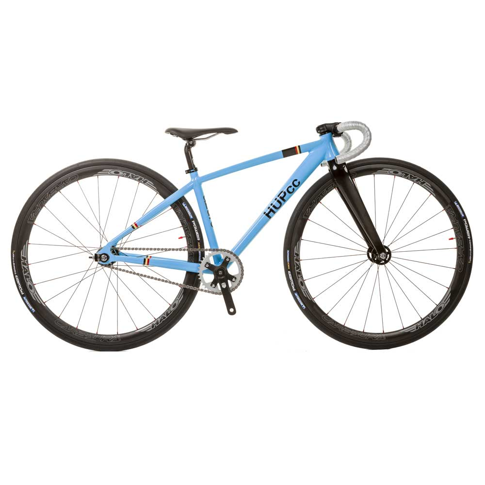 STANDARD BUILD HUP azure 700c Youth Track Race Bike 37cm