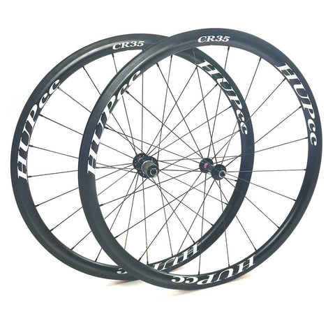 HUP CR35 700c Aero Wheelset (35mm Deep BC Legal Rim Brake Clinchers)