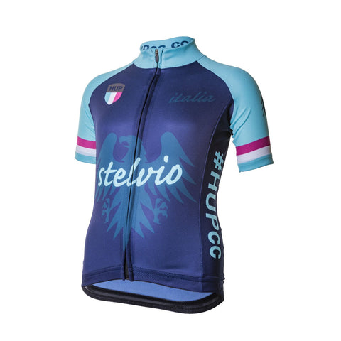 HUP Stelvio Kids Short Sleeved Cycling Jersey