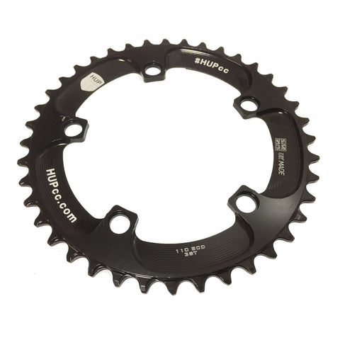 HUP 38T Narrow-Wide Chainring: Kids Road Race/Cyclocross/MTB Race Bikes