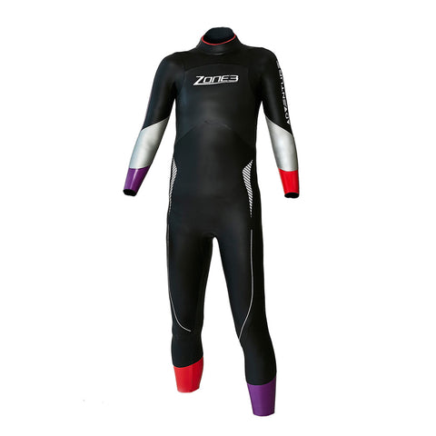 Ex-Hire Used Zone3 Adventure Junior Triathlon Wetsuit