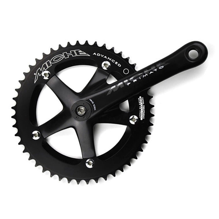 Miche Primato 165mm Advanced Track Cranks: 144bcd 5-bolt, Narrow Q-Factor