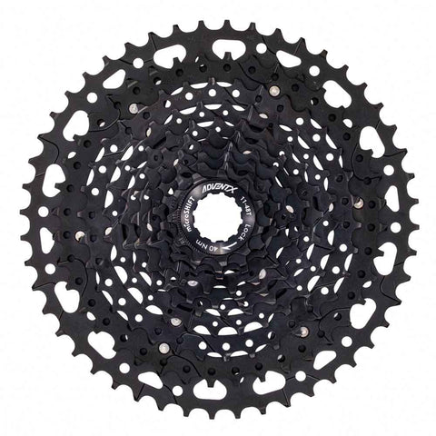 Microshift ADVENT X 11-48T 10-Speed Cassette With Alloy Spider (CS-G104 11-48T)