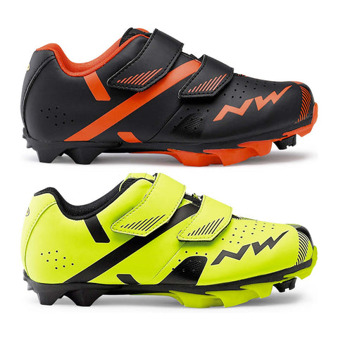 Kids cycling shoes for cleats/clips to