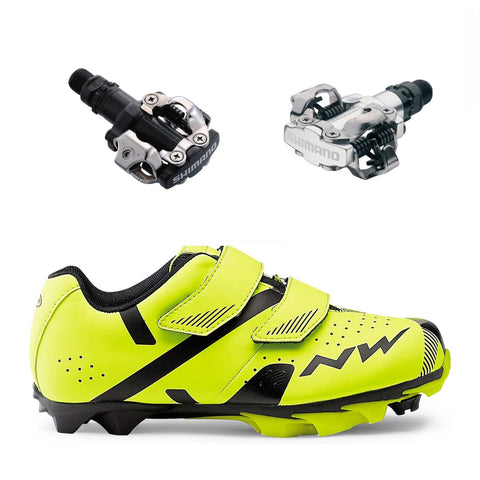 Northwave Kids Hammer and MTB Pedals bundle