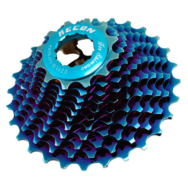 Recon Aluminium Lightweight 11-speed Youth/Junior Cassettes (Shimano Compatible)