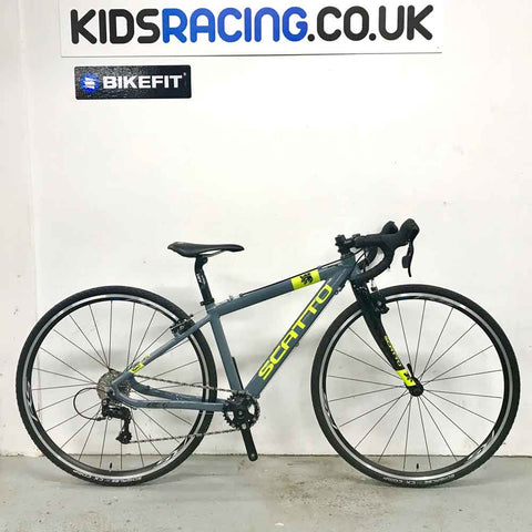 Scatto JC28 Small 10sp with 700c CX bike (Ex-Display in Grey/Fluro)