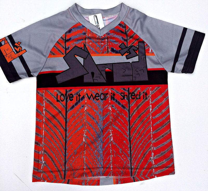 ShredXS Children's MTB Cycling Enduro Jersey