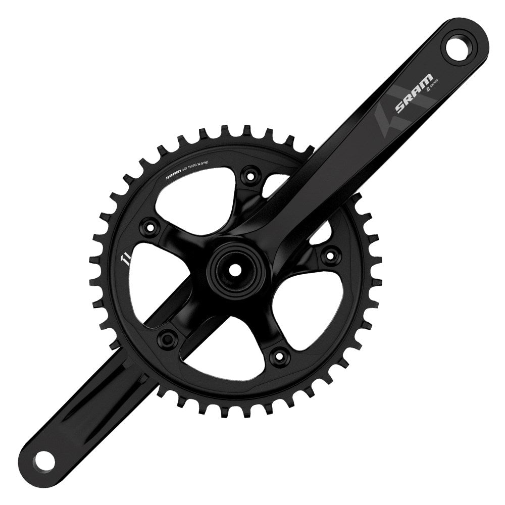 SRAM s350 1x Crankset: Short (from 165mm long) Cranksets for Cyclocross