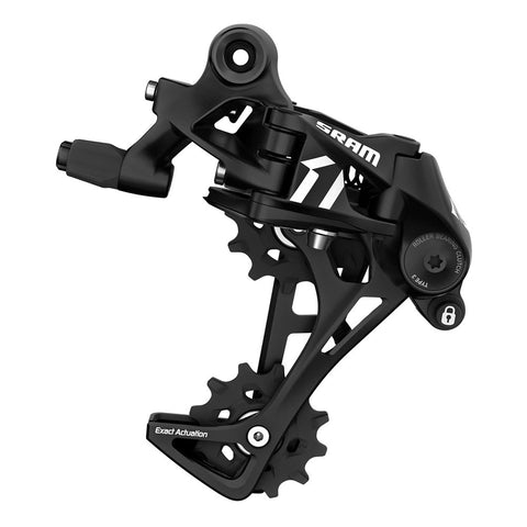 SRAM Apex 1x Rear Derailleur: 1x11 Speed long cage with roller bearing clutch