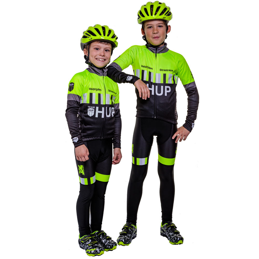 246ed4bd2 Children s Winter cycling clothes for Cyclocross - keep core temp up ...